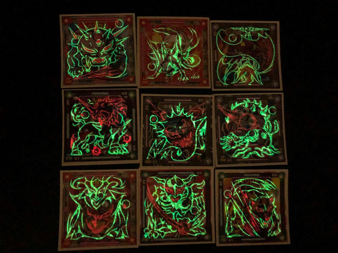 シンクロx赤い蓄光